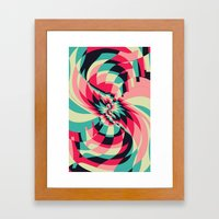 Swivel Vision (Available in the Society 6 Shop) Framed Art Print