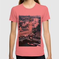 Big Ben Womens Fitted Tee Pomegranate SMALL