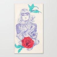 Flowery 02 Canvas Print