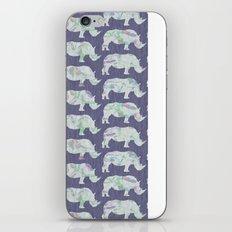 speckled rhinos iPhone & iPod Skin