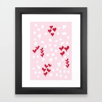 Giving Hearts Gving Hope… Framed Art Print