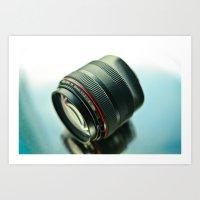 85mm F/1.2L Art Print