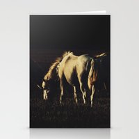 horses Stationery Cards featuring Horses by Ni.Ca.