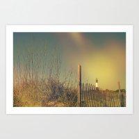 Summertime Is Beach Time Art Print