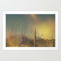 Summertime Is Beach Time Art Print