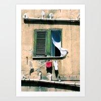 summer wind Art Print