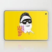 F*ck Sh*t Up Laptop & iPad Skin