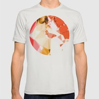 Jet Sex Radio Mens Fitted Tee Silver SMALL