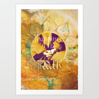 Happiness IS Art Print