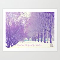 Can't See The Forest For… Art Print