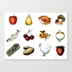 Some More Food Canvas Print
