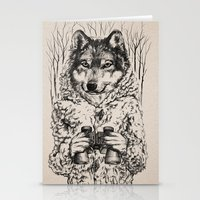 A Wolf In Sheep's Clothi… Stationery Cards