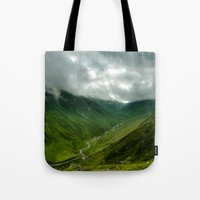 The Valley Tote Bag