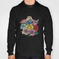 Flowers In Roses Hoody