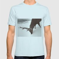tender creature  Mens Fitted Tee Light Blue SMALL