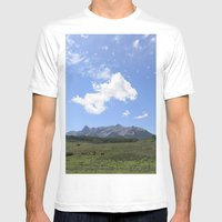 Telluride Mens Fitted Tee White SMALL