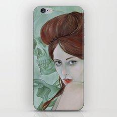 SKULL BONES iPhone & iPod Skin