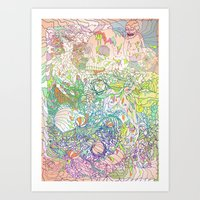 This Sea of Love Art Print