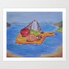 Mysterious Ark Art Print