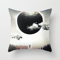 A Dream of Gravity Throw Pillow