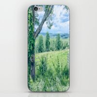 Never Ending Field iPhone & iPod Skin