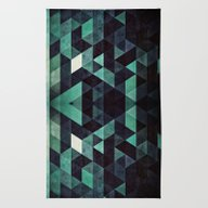 Rug featuring Ddrypp by Spires