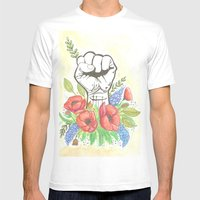 Thanks A Bunch Mens Fitted Tee White SMALL
