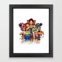 ToyStory Framed Art Print