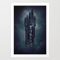 House Of Knives 2 Art Print