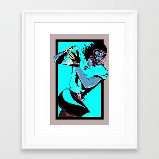 Catch & Run Framed Art Print