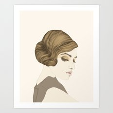 María Valverde Art Print