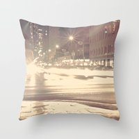 Photophobia Throw Pillow
