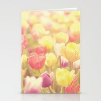 life isn't a tiptoe through the tulips ... Stationery Cards