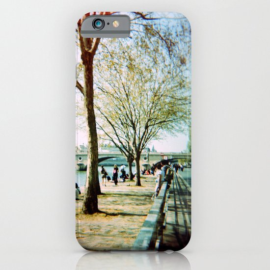 Paris in the Spring Time iPhone & iPod Case