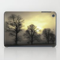Golden Tree Landscape iPad Case