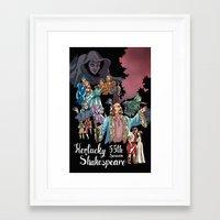 Kentucky Shakespeare 55 … Framed Art Print