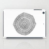 Vacancy Zine Mandala I B&W iPad Case