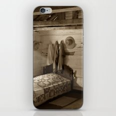 Log Cabin Bedroom iPhone & iPod Skin