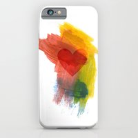 iPhone & iPod Case featuring Scatterheart by Katy Davis