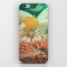 Listen To Me And I'll Tell You A Story iPhone & iPod Skin