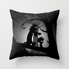A Wrong Turn Throw Pillow