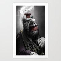 Pope Of Surgery Minor Art Print