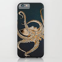 iPhone & iPod Case featuring Embrace Of The Octopus by Chris Bliss
