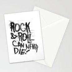HEY HEY MY MY Stationery Cards