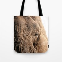 Elephant, Into The Wild.… Tote Bag