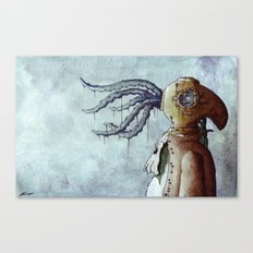 The Octopus Man Canvas Print