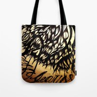 Coca Leaves Tote Bag