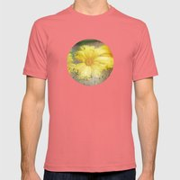 Summer Rain Mens Fitted Tee Pomegranate SMALL