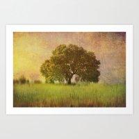 Lonely tree.II Art Print