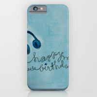 iPhone & iPod Case featuring Headphone Happy Birthday by Kinnon Elliott Illustration & Design